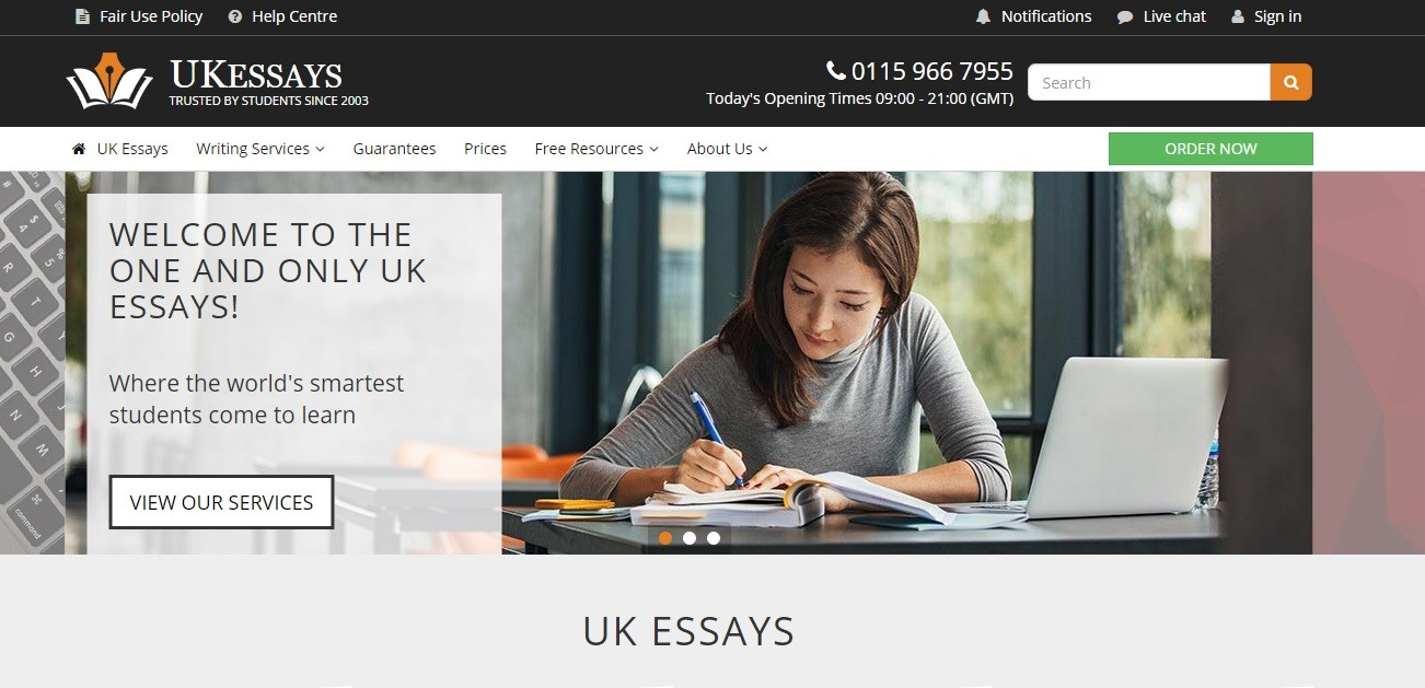 Ukessayscom Review  Ukessaysreviews Ukessayscom Is A Beautifully Designed Popular Writing Service Among  Students Worldwide Once You Enter Their Website You Are Immediately  Attracted Not  Search Essays In English also Poverty Essay Thesis  English Essay Books