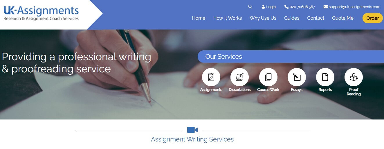 uk assignments review