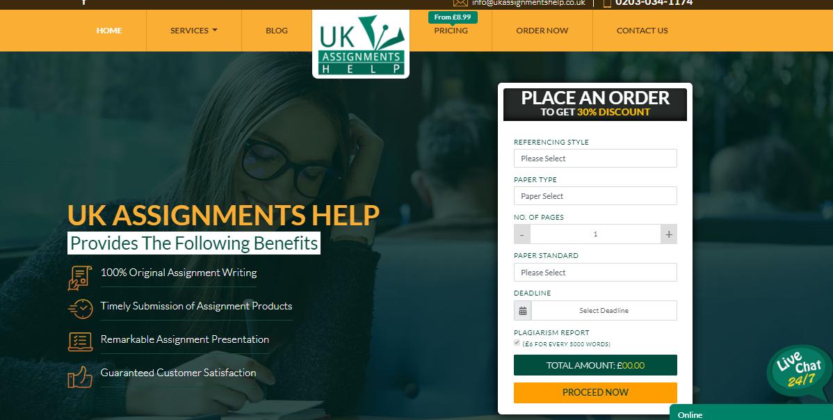 UkAssignmentsHelp.co.uk Review