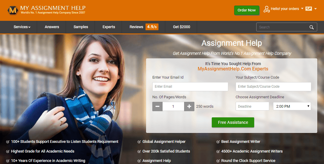 My assignment help uk
