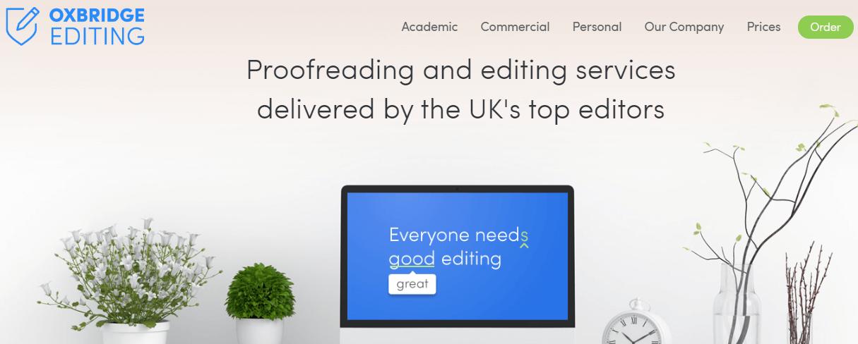 Oxbridge Editing review